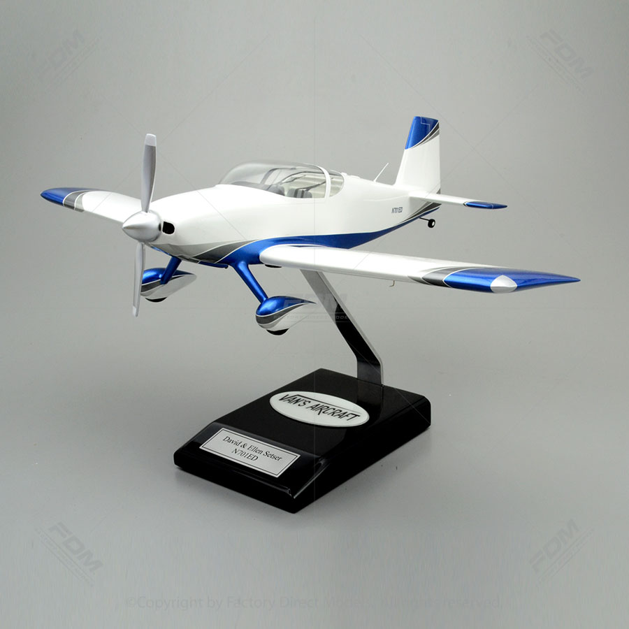 Vans Aircraft Rv 7 Model With Detailed Interior