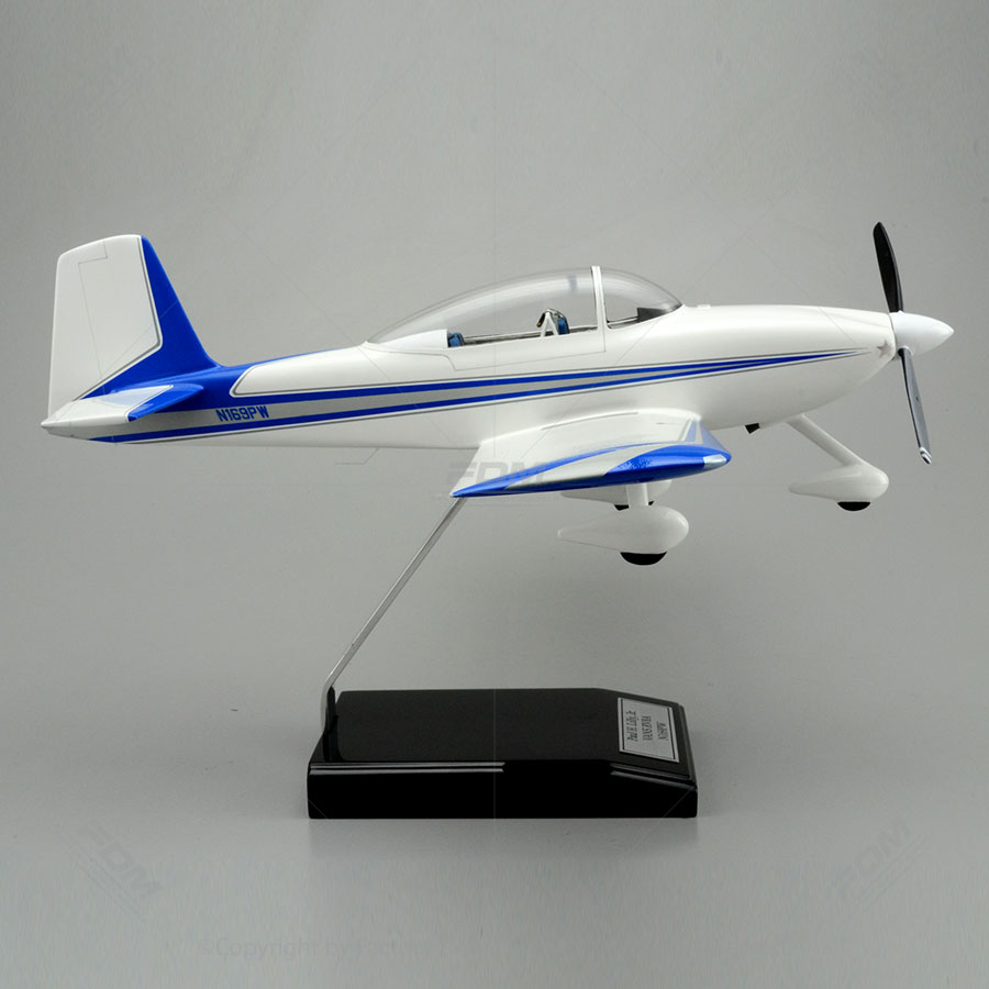 Vans Aircraft Rv 8 Model With Detailed Interior