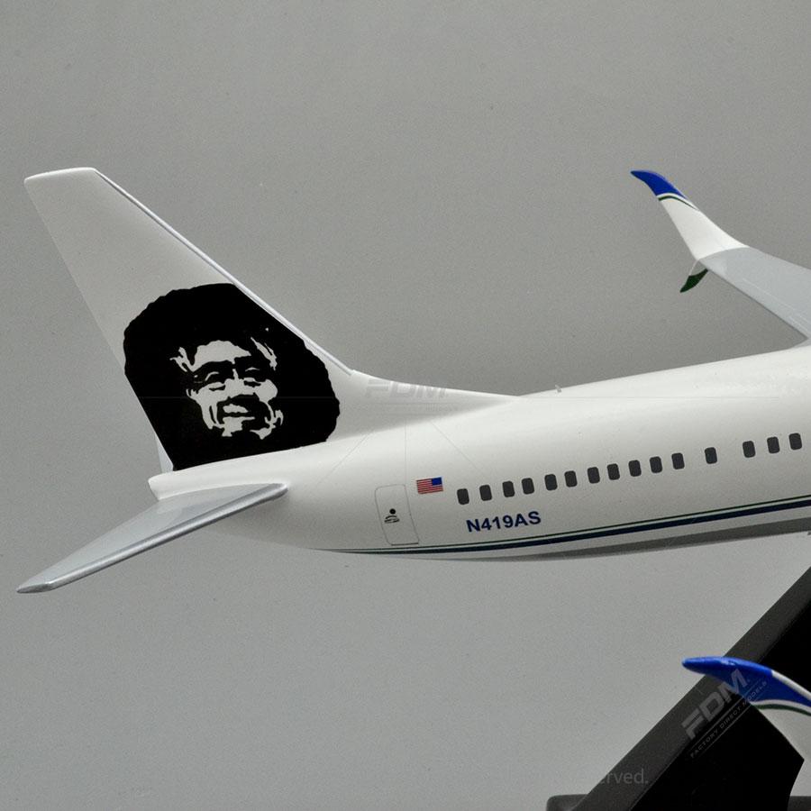 Boeing 737 900er Alaska Model Factory Direct Models