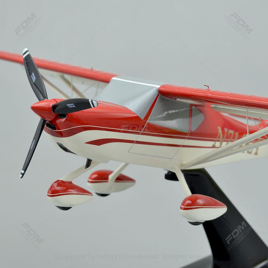 Kitfox S7 Super Sport Scale Model Airplane