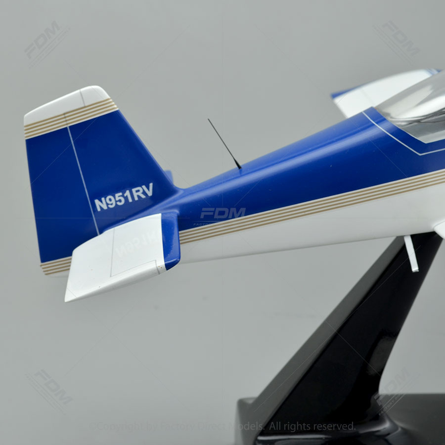 Vans Aircraft Rv 9a Model With Detailed Interior