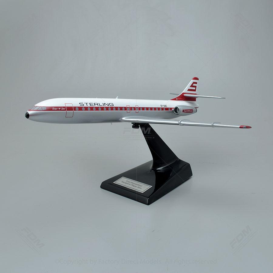 Sud aviation caravelle version 12 model for Version sud