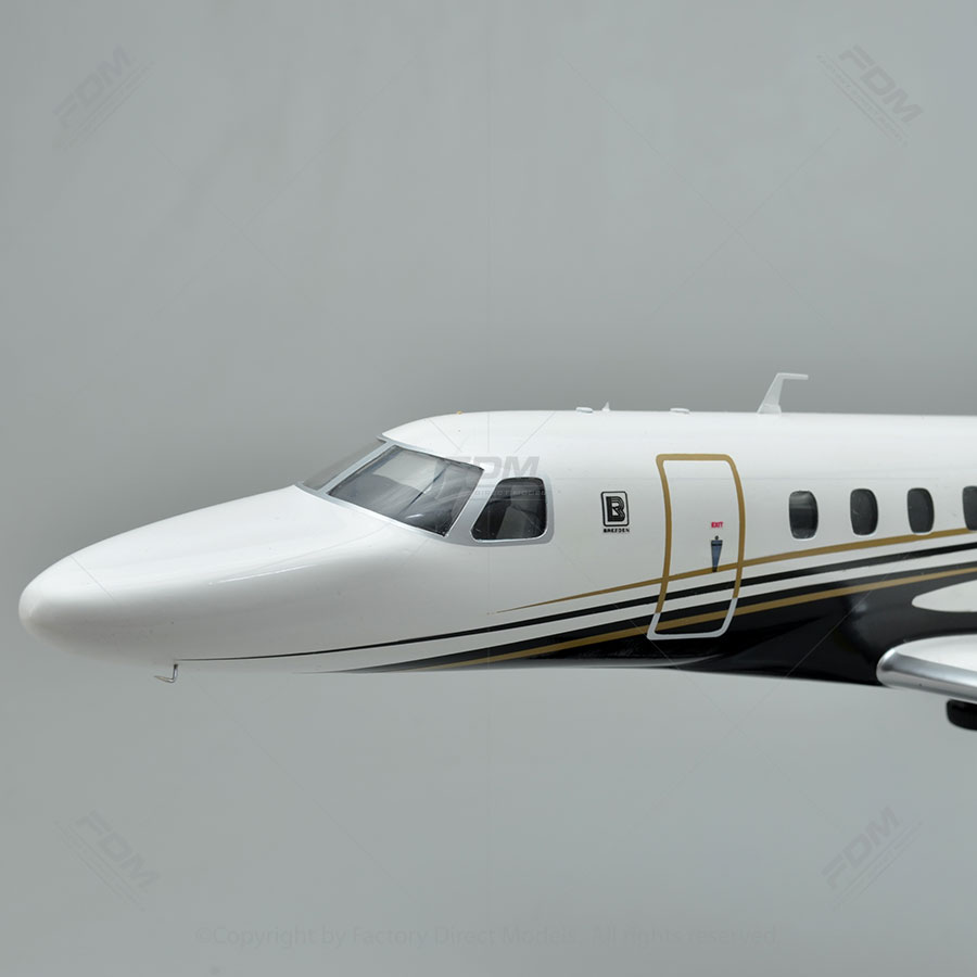 Cessna Citation Cj4 Model With Detailed Interior