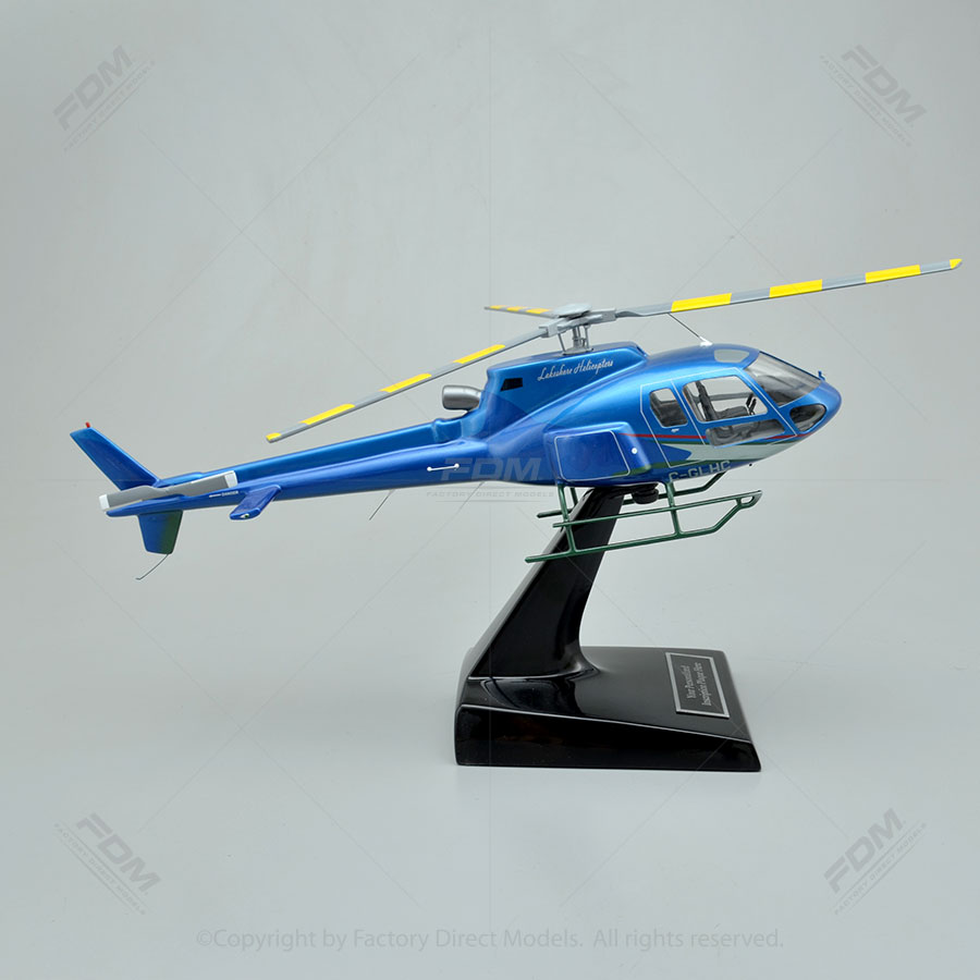 Elicottero H 125 : Airbus helicopters h model with detailed interior