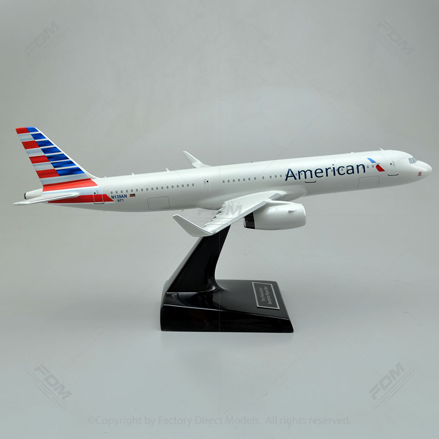 Airbus A321 231 American Airlines Model Airplane