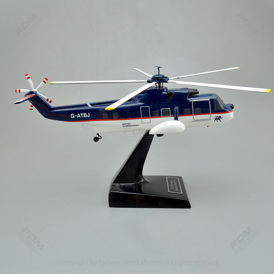Elicottero S 61 : Sikorsky s n model helicopter