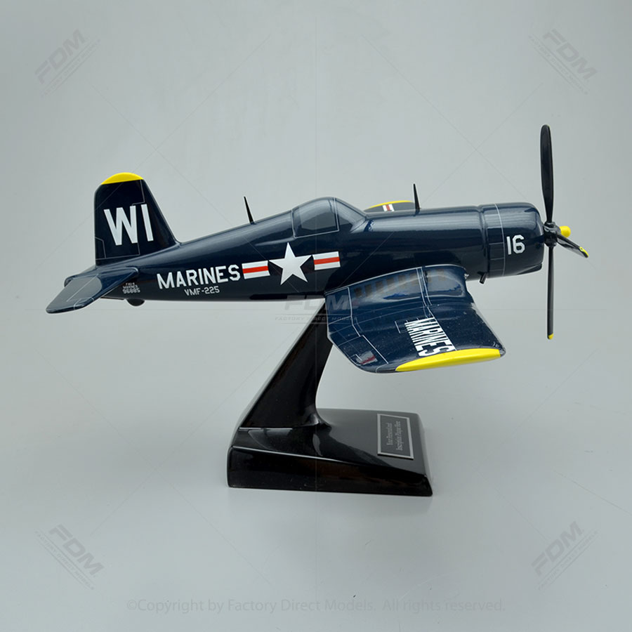 Vought F4U-4 Corsair Model Airplane - 63.1KB
