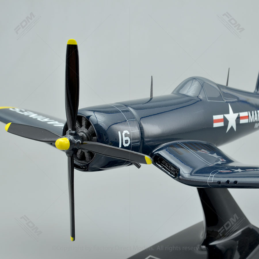 Vought F4U-4 Corsair Model Airplane - 74.4KB