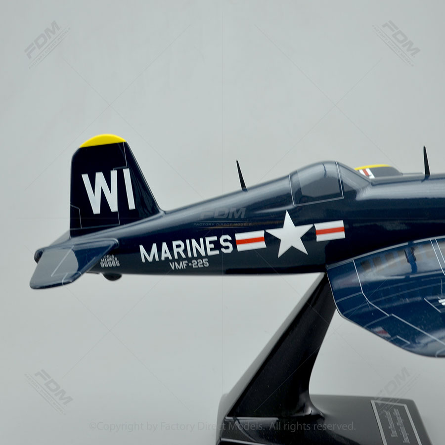 Vought F4U-4 Corsair Model Airplane - 70.8KB