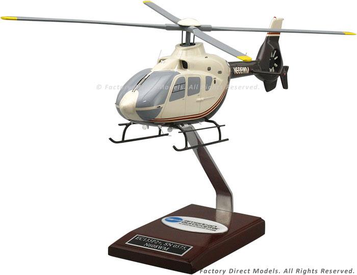 Elicottero Ec 135 : American eurocopter ec wooden helicopter model