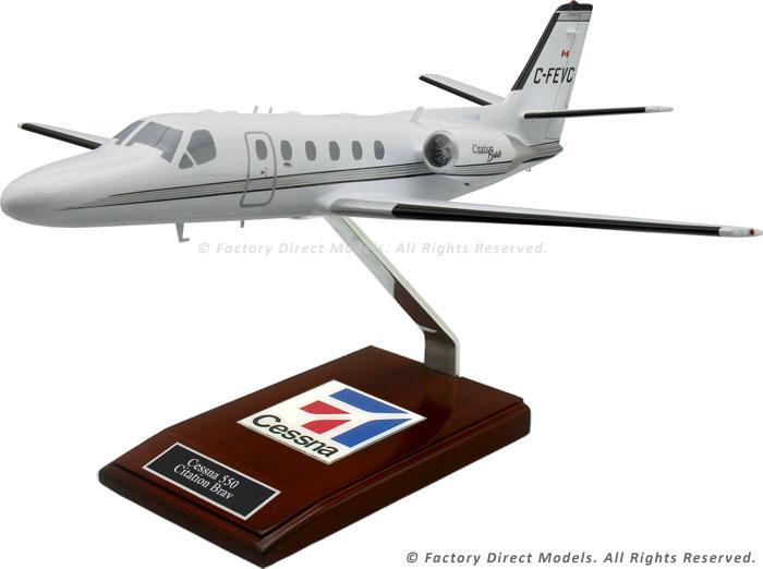 Cessna 550 Citation Bravo Model Airplane