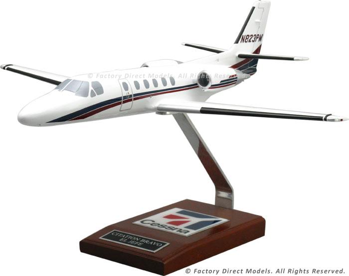 Cessna 550 Citation Bravo Scale Model Airplane