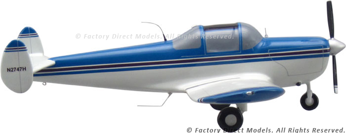 Ercoupe 415c Scale Model Airplane Factory Direct Models