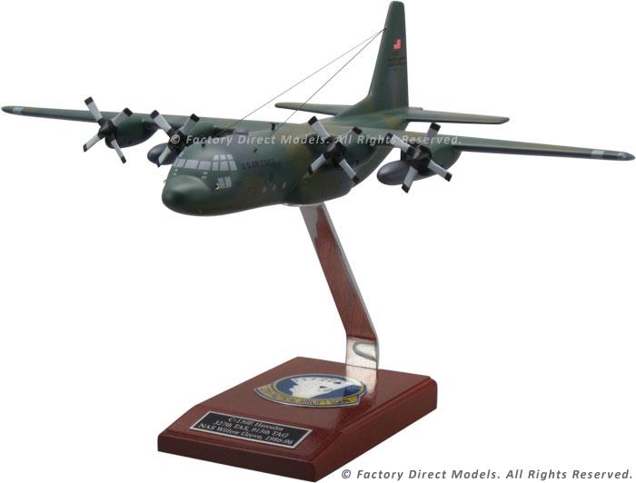 Lockheed C 130 Hercules Wooden Airplane Model