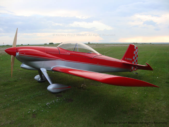 Vans Rv 4 Scale Model Airplane