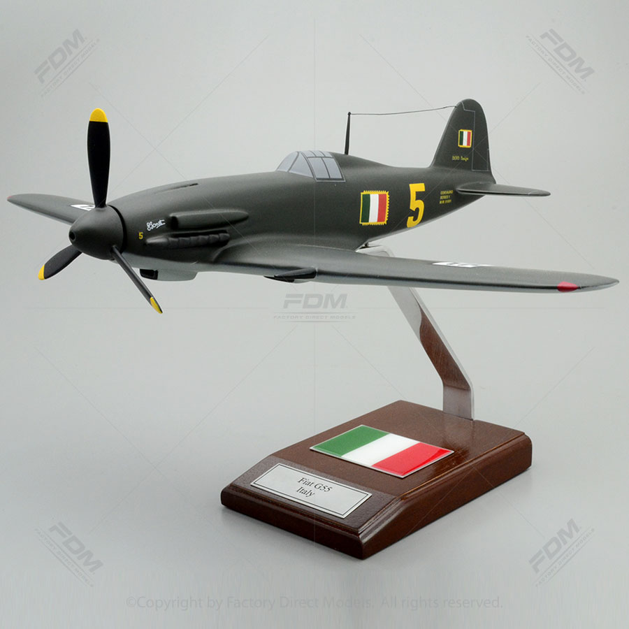 Fiat G.55 Italy Scale Model