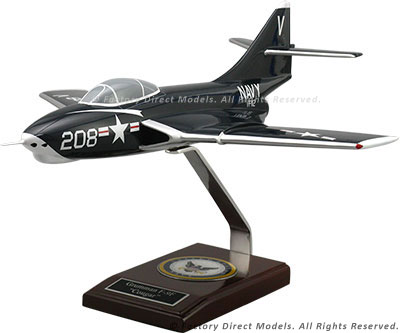 Grumman F9F/F-9 Cougar Navy Scale Model