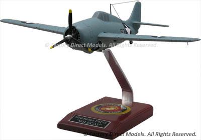 Grumman F4F-4 Wildcat Scale Model