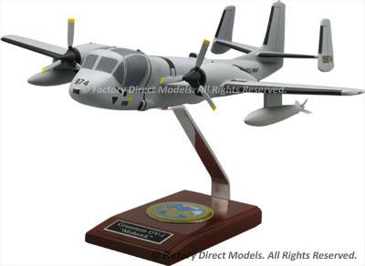 Grumman OV-1 Mohawk Model Airplane