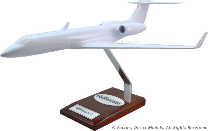 Your Custom Painted Gulfstream G-V Scale Model Airplane