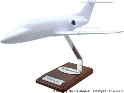 Your Custom Painted Hawker Beechcraft 400XP Scale Model Airplane