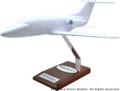 Your Custom Painted Hawker Beechcraft 400A Scale Model Airplane
