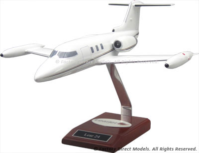 Learjet 24 Airplane Model