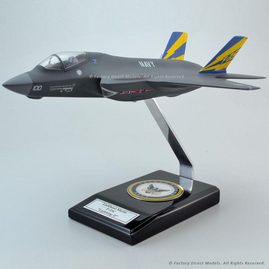 Lockheed Martin F-35C Lightning II Scale Model Aircraft