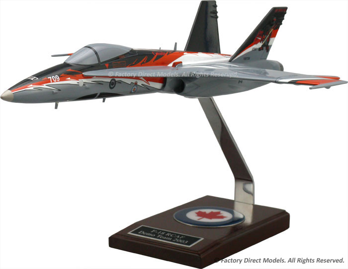 McDonnell Douglas F-18 RCAF Demo Team Model