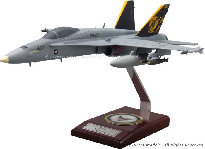 McDonnell Douglas F-18 Hornet VFA-25 Model