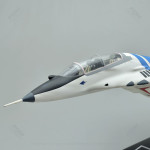 Mikoyan MiG-29UB Model Airplane with Detailed Interior