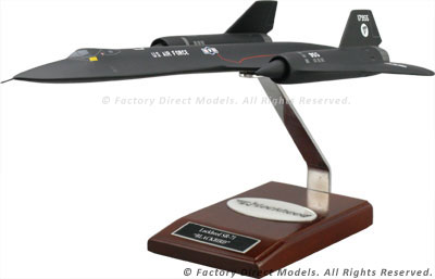 Lockheed SR-71 Blackbird Scale Model