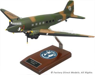 Douglas C-47 Gooney Bird Scale Model
