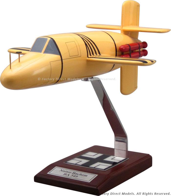 Natter Bachem BA 349 Viper Model Airplane