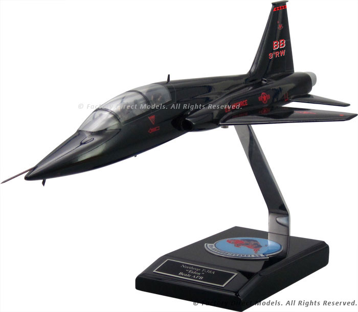 Northrop T-38A Talon Clear Canopy Scale Model Aircraft