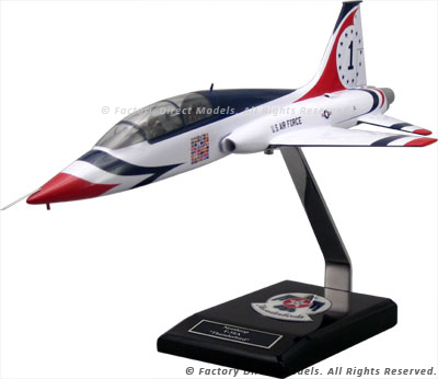 Northrop T-38A Talon with Thunderbird Paint Scheme Clear Cabin Scale Model Aircraft