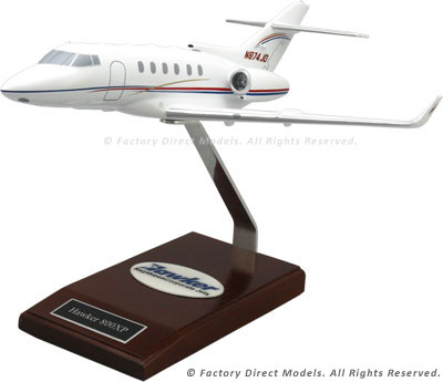 Raytheon Hawker 850XP Airplane Model