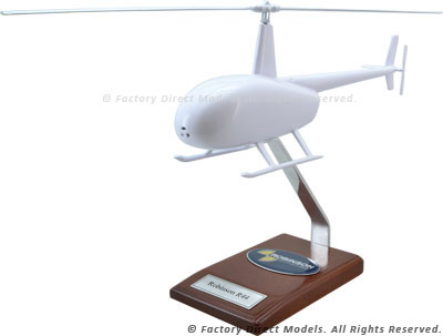 Your Custom Painted Robinson R44 Scale Model Helicopter