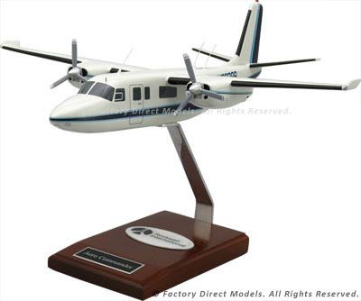 Rockwell Aero Commander 680 Airplane Model