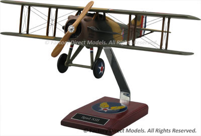 SPAD S.XIII Scale Model Aircraft