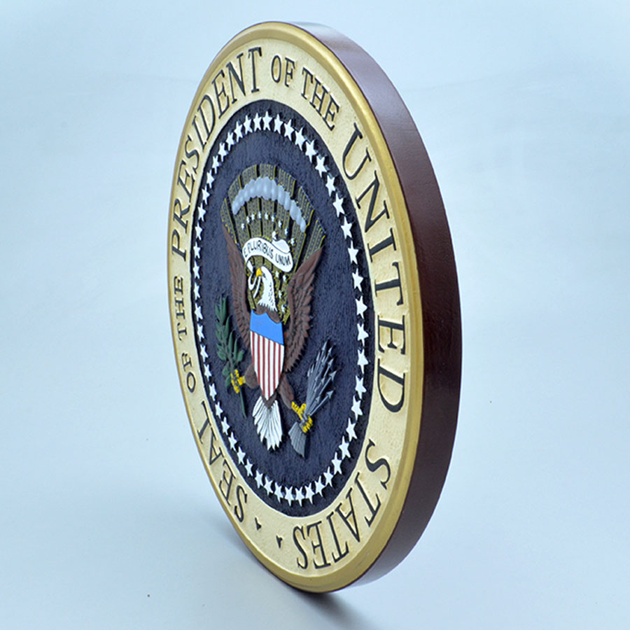 US Presidential Seal 14 Wall Plaque