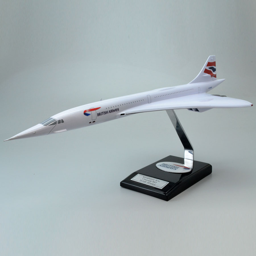 Aeospatiale BAC Concorde SST British Airways Model Airplane