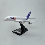 Airbus A380 Fedex Cargo Jet Scale Model Airplane