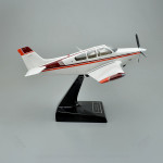 Beechcraft Bonanza F33A Model Airplane with Detailed Interior