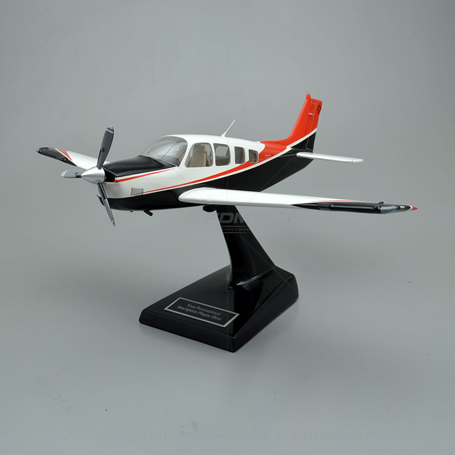 Beechcraft Bonanza G36 Scale Model Airplane with Detailed Interior