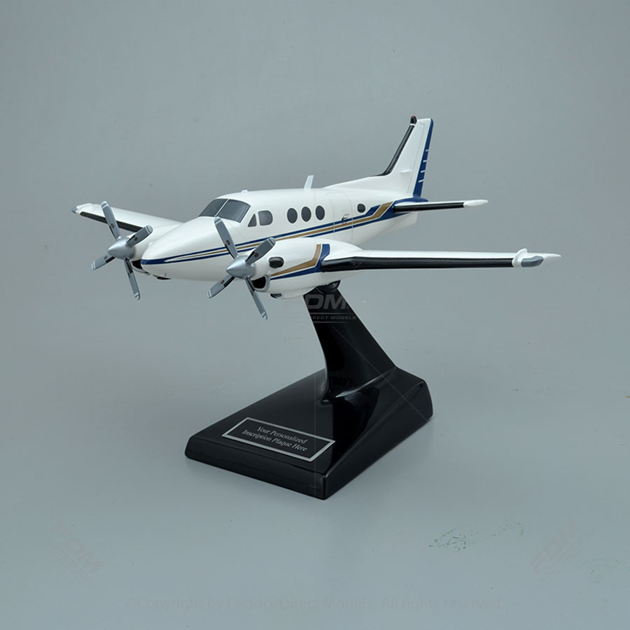 Beechcraft C90 King Air Model Airplane