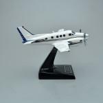 Beechcraft C90 King Air Model Airplane