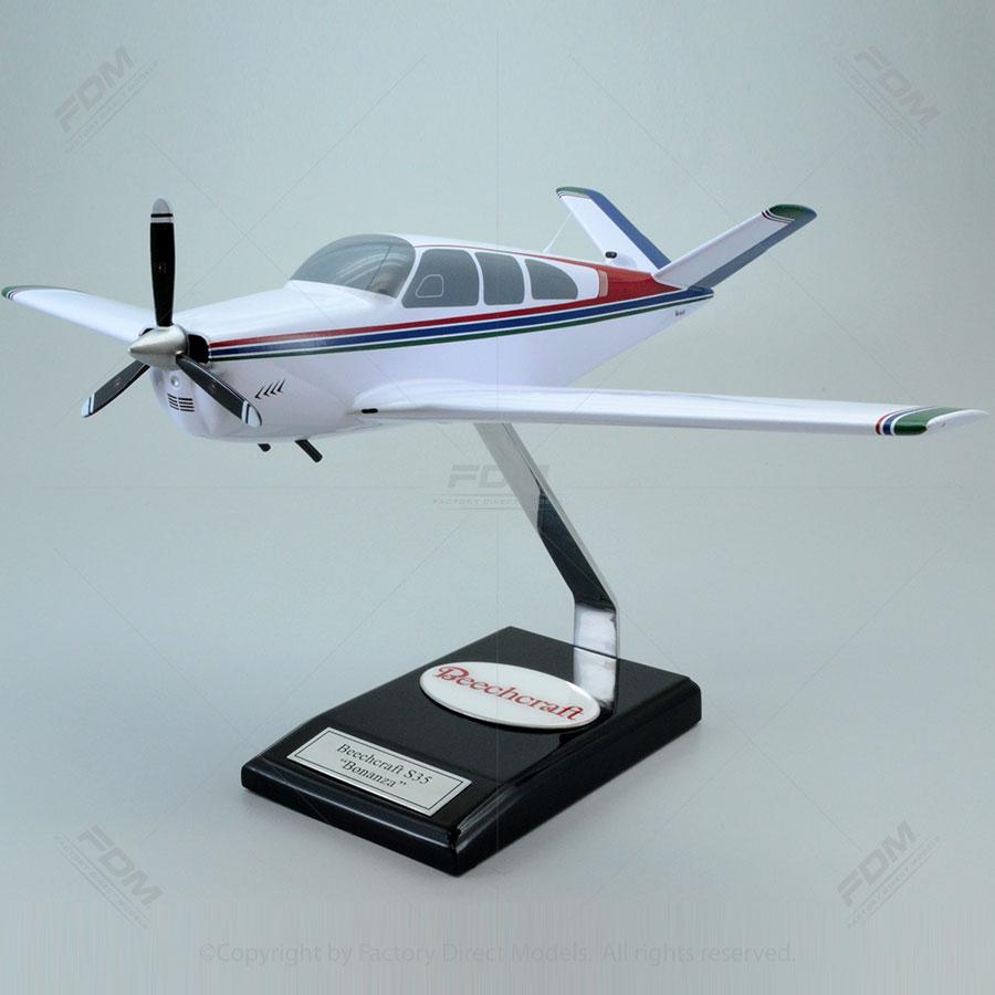 Beechcraft S35 Bonanza Model Airplane