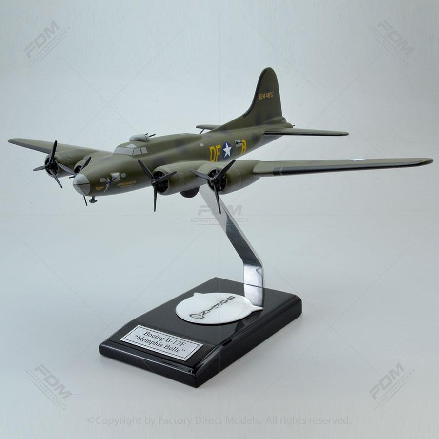 Boeing B-17F Memphis Belle Scale Model