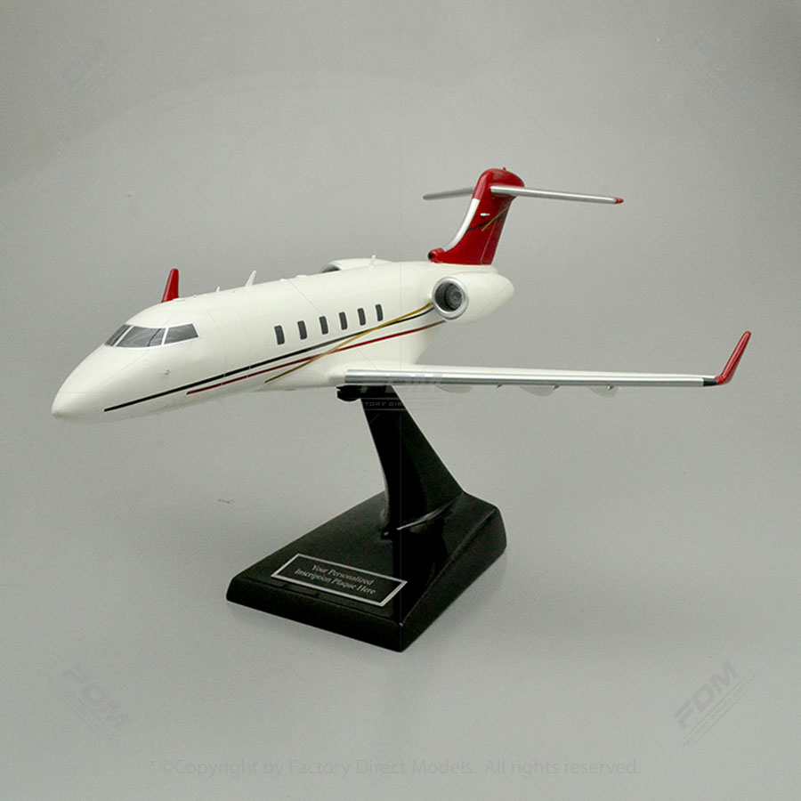 Bombardier Challenger 300 Model Airplane